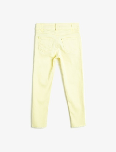 Koton Kids Pantolon Sarı